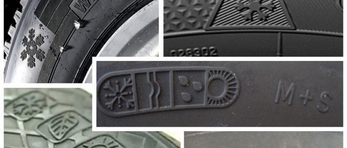 сезонная маркировка колеса